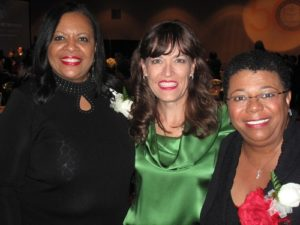 Diann Payne (left), Paige Roberts (middle), Karen Sock (right)