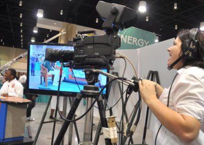 Arts-camerawoman